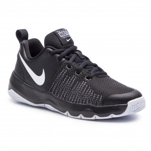 buy online 4791a a108d Chaussures NIKE Team Hustle Quick (GS) 922680 004 Black  White