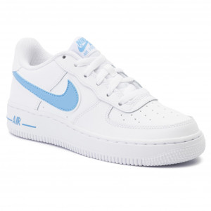 Chaussures NIKE Air Force 1 3 (Gs) AV6252 102 White
