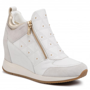 Sneakers GEOX D Nydame D D020QD 08522 C1352 WhiteOff