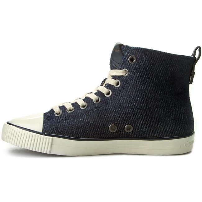 Sneakers CALVIN KLEIN JEANS - Dorielle R4091 Midnight/Gold - Baskets - Chaussures basses