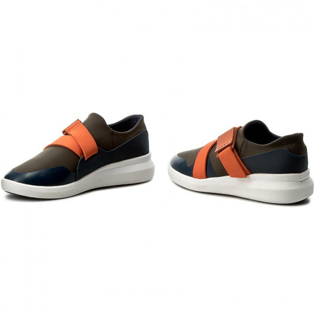 Sneakers DKNY - Tilly Sport K171230419 Miltry/Orng 342 - Sneakers - Chaussures basses
