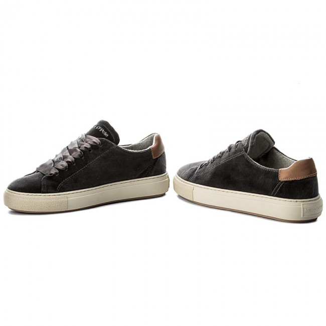 Chaussures basses MARC O'POLO - 707 14053501 603 Dark Grey 930 - Plates - Chaussures basses