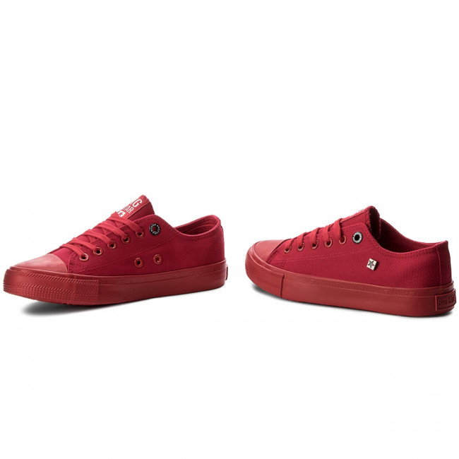 Sneakers BIG STAR - AA274007 Red - Baskets - Chaussures basses