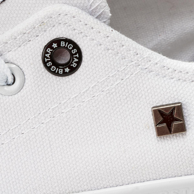 Sneakers BIG STAR - AA274010 White - Baskets - Chaussures basses