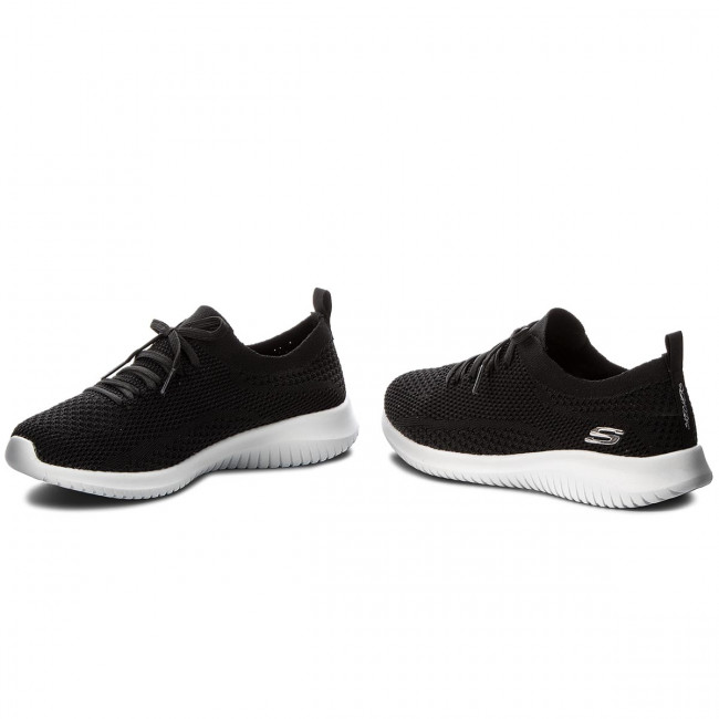 Sneakers SKECHERS - Statements 12841/BKW Black/White - Sneakers - Chaussures basses