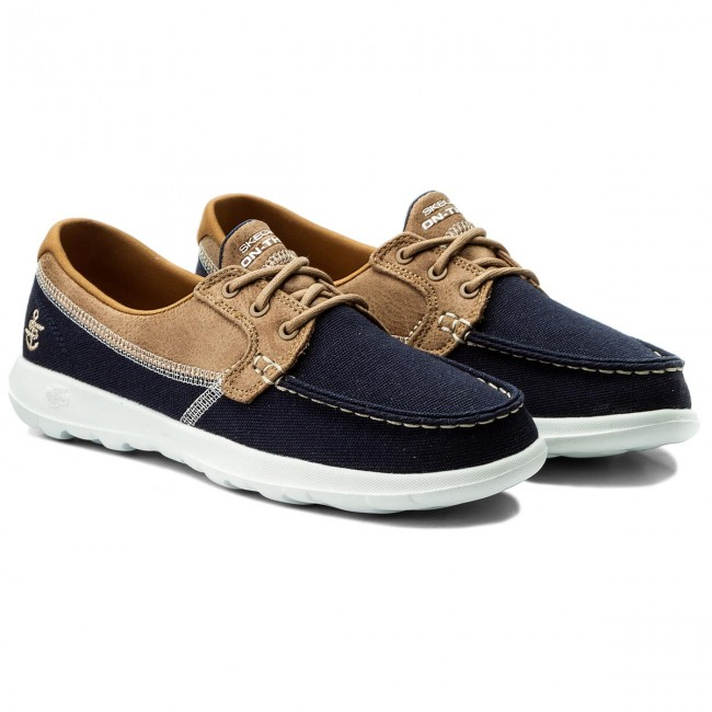 Chaussures basses SKECHERS - Coral 15430/NVY Navy - Plates - Chaussures basses