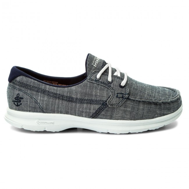 Chaussures basses SKECHERS - Marina 14415/NVY Navy - Plates - Chaussures basses