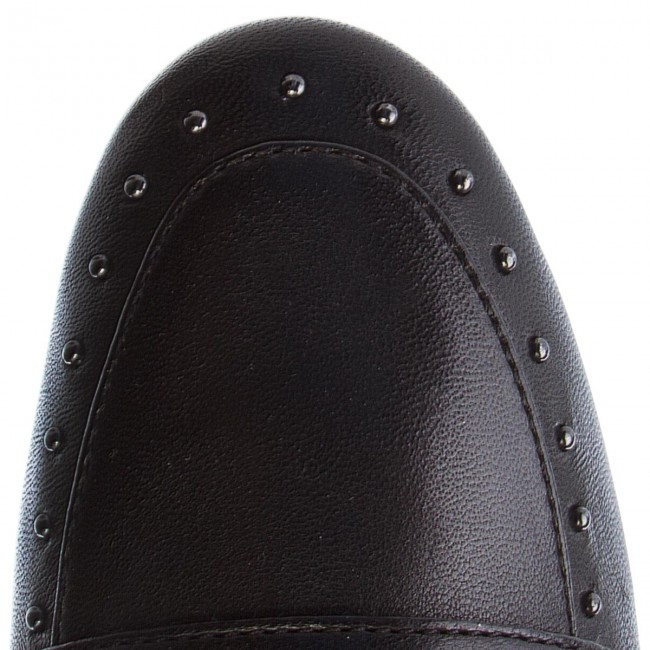 Loafers INUOVO - 9076  Black - Loafers - Chaussures basses