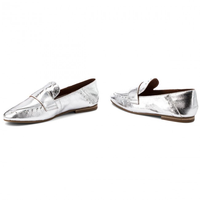 Loafers INUOVO - 9076 Silver - Loafers - Chaussures basses