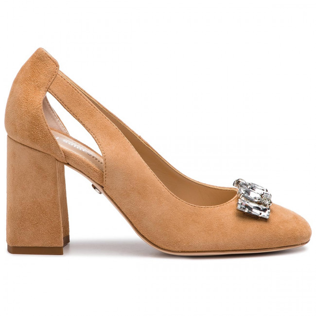 Chaussures basses SOLO FEMME - 50222-33-I57/000-04-00 Beż - Talons - Chaussures basses