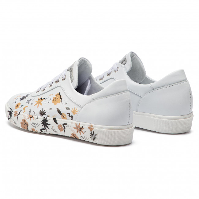 Sneakers ANN MEX - 0207 00S+12S Blanc - Sneakers - Chaussures basses