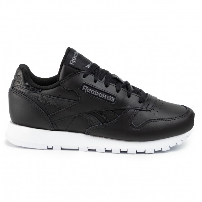 Chaussures Reebok - Cl Lthr DV8155  Black/Black/White - Sneakers - Chaussures basses