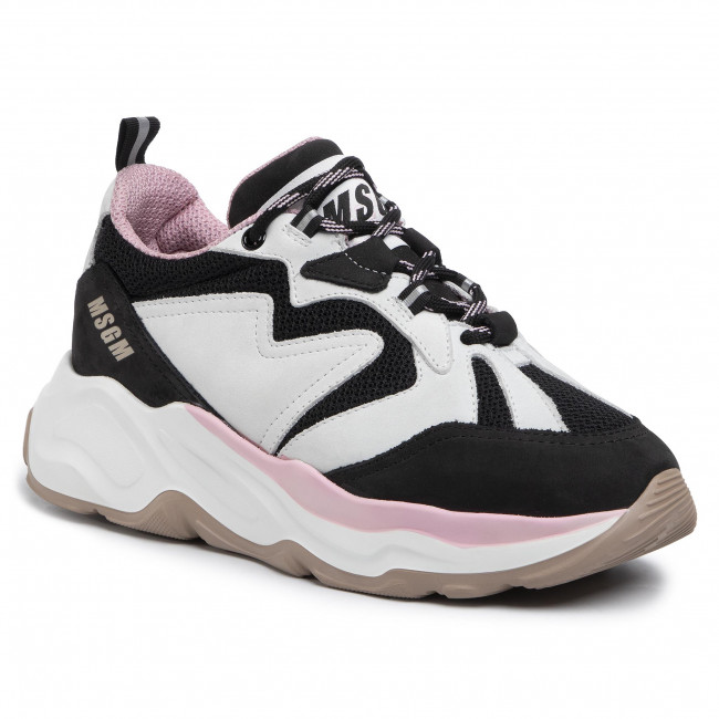 Sneakers MSGM - Scarpa Donna 2742MDS2086 703 99 Blanc Multicolore - Sneakers - Chaussures basses