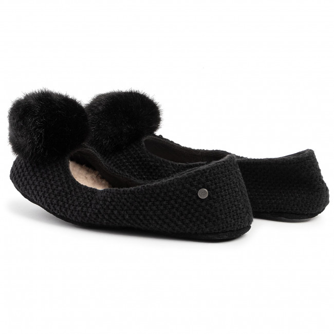 Chaussons UGG - W Andi 1105318  Blk - Chaussons - Mules et sandales
