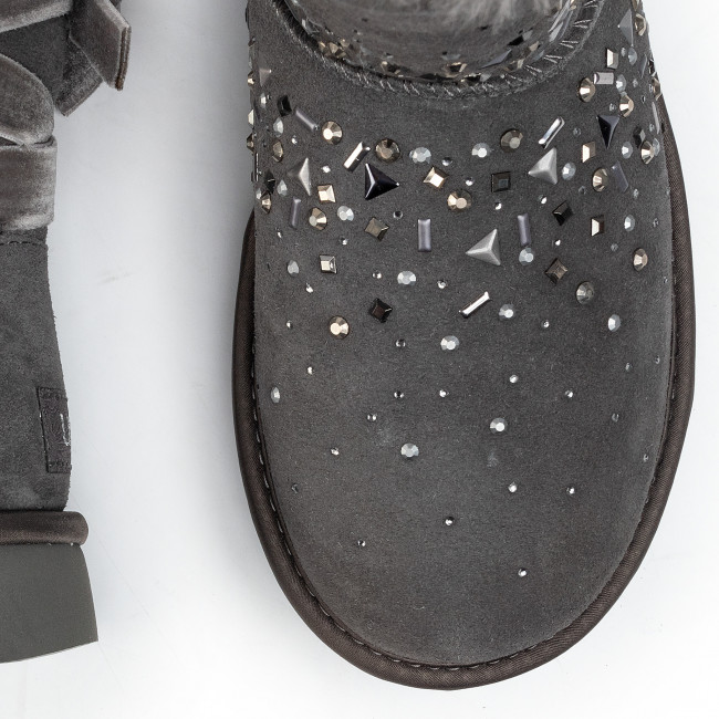 Chaussures UGG - W Classic Galaxy Bling Short 1103798 Chrc - UGG - Bottes et autres