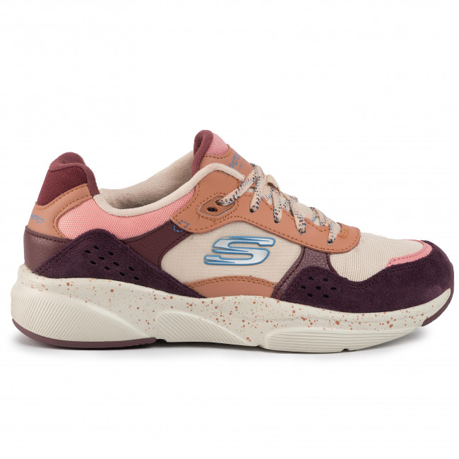 Sneakers SKECHERS - Daily Luc 13054/BUPK Burgundy/Pink  - Sneakers - Chaussures basses