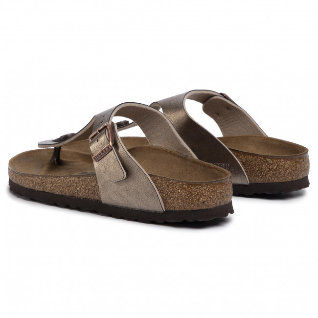 Tongs BIRKENSTOCK - Gizeh Bs 1016145 Graceful Taupe - Tongs - Mules et sandales