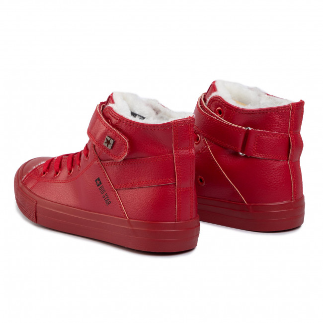 Sneakers BIG STAR - V274529FW19 Red - Baskets - Chaussures basses