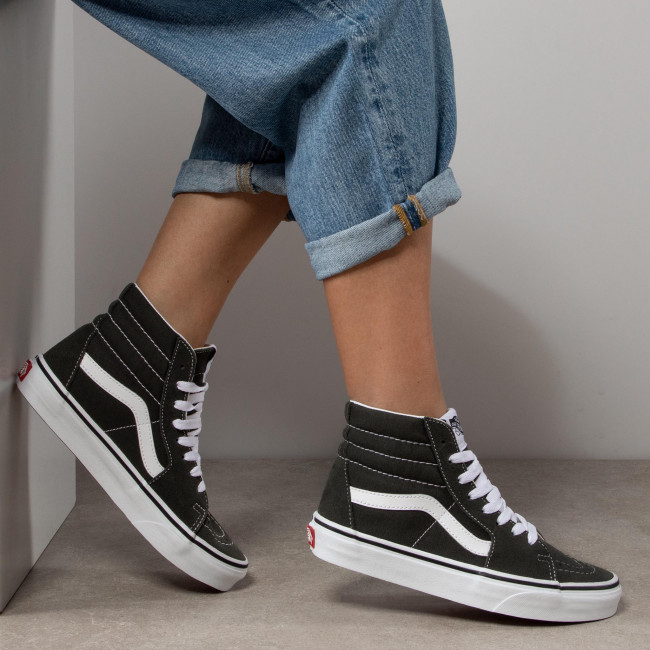 Sneakers VANS - Sk8-Hi VN0A4BV62LE1 Forest Night/True White - Sneakers - Chaussures basses