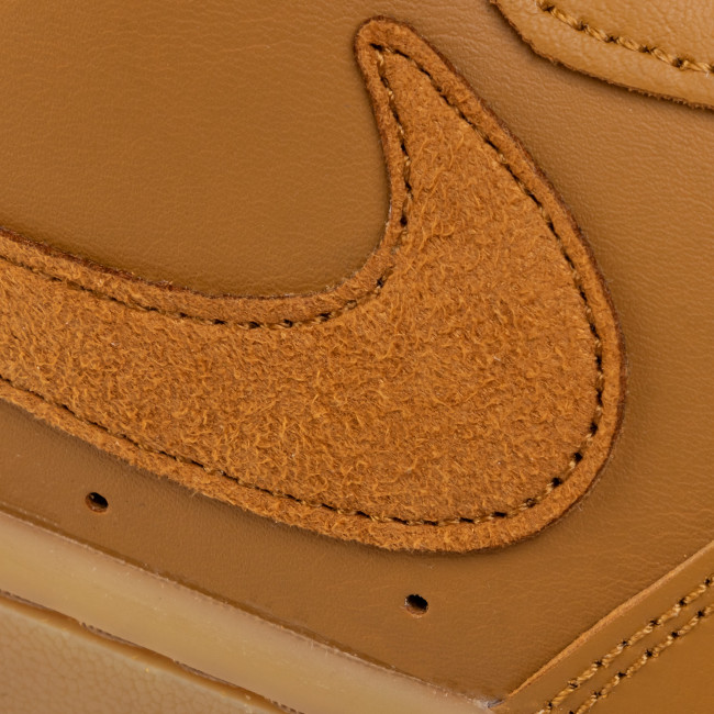 Chaussures NIKE - Court Borough Low 2 (Gs) BQ5448 700 Wheat/Wheat Gum/Light Brown - Sneakers - Chaussures basses