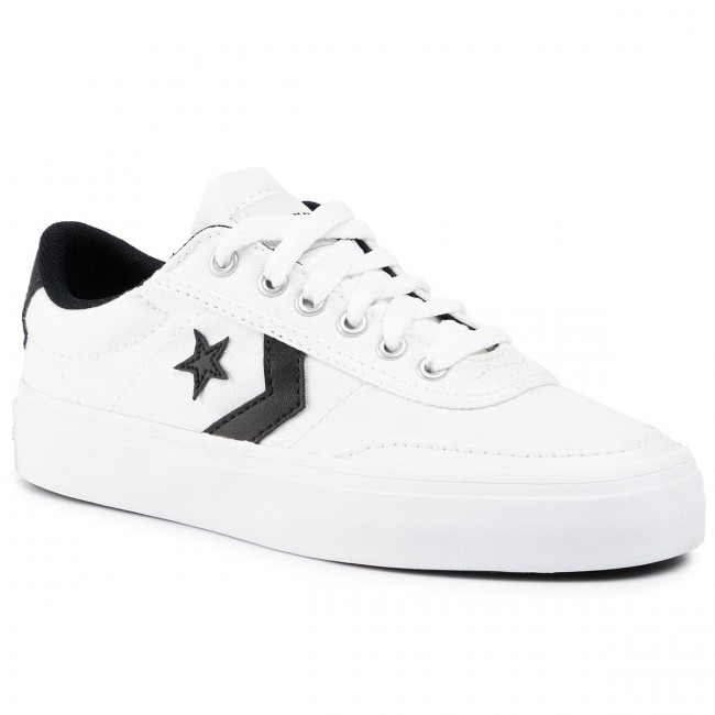 Sneakers CONVERSE - Courtlandt Ox 161602C White/Black/Black - Sneakers - Chaussures basses