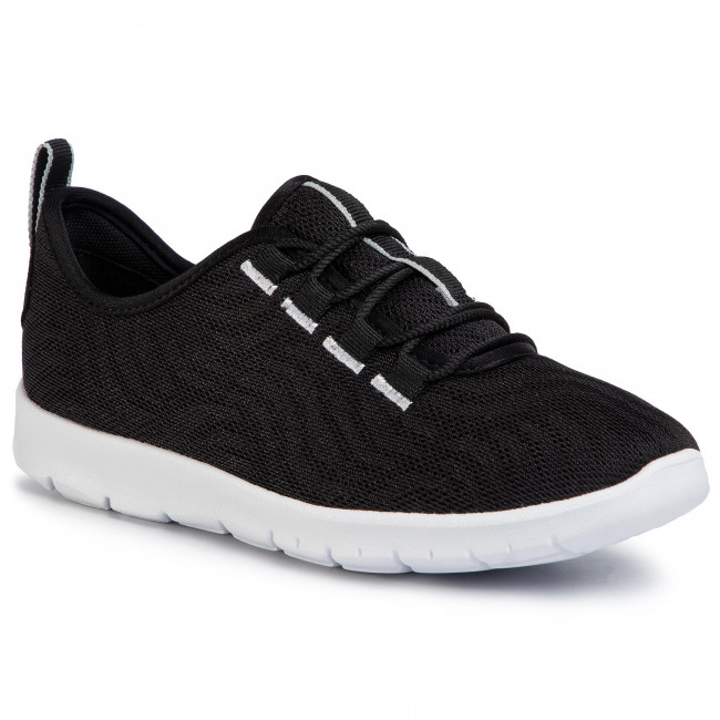 Sneakers CLARKS - Step Allena Go 261504824 Black - Sneakers - Chaussures basses