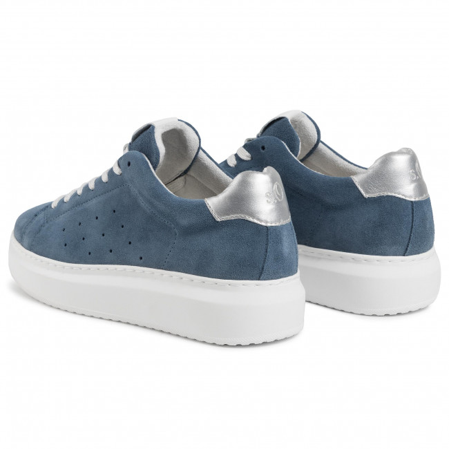 Sneakers S.OLIVER - 5-23630-33 Blue 800 - Sneakers - Chaussures basses