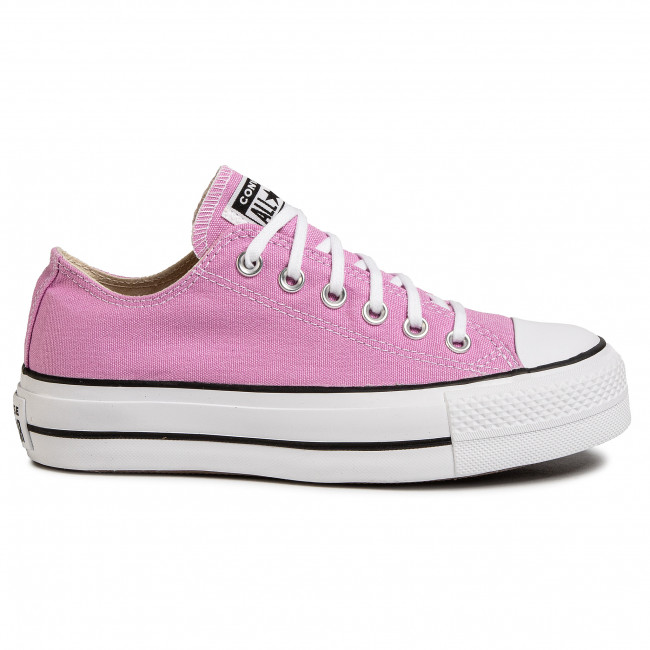 Sneakers CONVERSE - Ctas Lift Ox 566756C Peony Pink/White/Black - Baskets - Chaussures basses