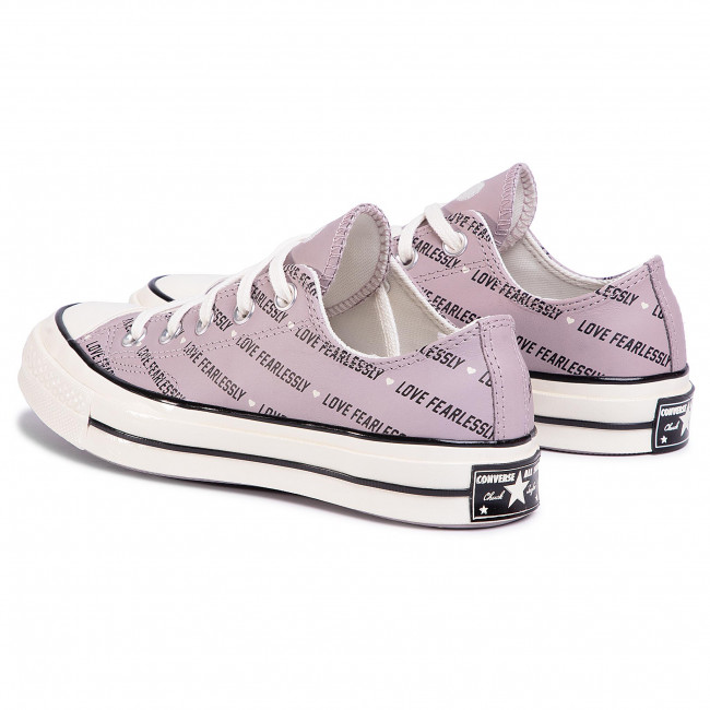 Sneakers CONVERSE - Chuck 70 Ox Amethy 567154C Amethyst Grey/Egre - Baskets - Chaussures basses